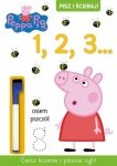 Świnka Peppa Pisz i ścieraj! 1 1, 2, 3…