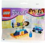MiniMini+ magazyn Wydanie specjalne + LEGO Friends 30400 Naomi gimnastyczka