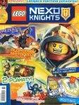 LEGO Nexo Knights magazyn 9/2016 + Płomienny nietoperz z lawową amunicją
