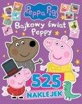 Świnka Peppa 525 naklejek Bajkowy świat Peppy