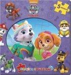 Psi Patrol Książka z puzzlami (Skye)