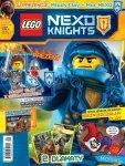 Lego Nexo Knights magazyn 8/2016 + Młody CLAY + limitowana karta