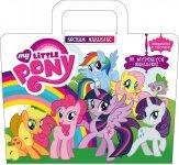 Mój kucyk Pony Kocham naklejać (2 plansze i 80 wypukłych naklejek)