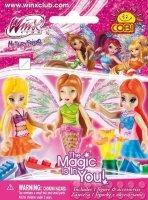 Winx Club magazyn 5/2015 + figurka Winx COBI