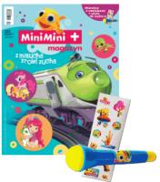 MiniMini+ magazyn 7/2015 + mikrofon z naklejkami + płyta