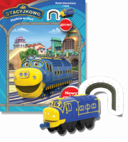 Stacyjkowo Ciuchcie na start + lokomotywa BRUNO + tunel