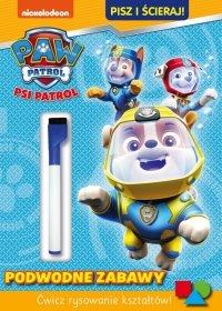 Psi Patrol Pisz i ścieraj! 6 Podwodne zabawy