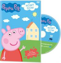 Świnka Peppa DVD Nowy dom (5 sezon, 26 odcinków)