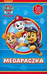 Psi Patrol Megapaczka 3 (szablon + kolorowanki + naklejki + 5 kredek)