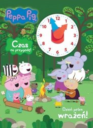 Świnka Peppa Czas na przygodę! Dzień pełen wrażeń!