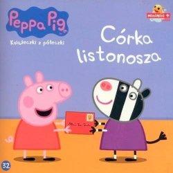 Świnka Peppa Książeczki z półeczki 32 Córka listonosza