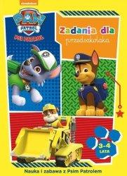 Psi Patrol Zadania dla przedszkolaka 3-4 lat