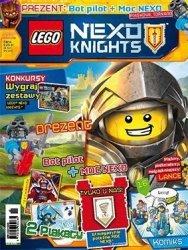 LEGO Nexo Knights magazyn 11/2016 + Bot pilot + Moc Nexo