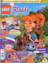LEGO Friends magazyn 5/2018 + gabinet weterynaryjny z uroczym kociakiem