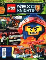 LEGO Nexo Knights magazyn 9/2018 + VANBAJTER z cybernetyczną kosą + niespodzianka