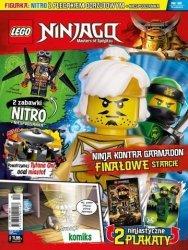 LEGO Ninjago magazyn 12/2018 + NITRO z plecakiem odrzutowym