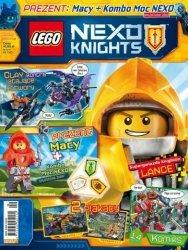 LEGO Nexo Knights magazyn 9/2017 + MACY