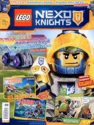 LEGO Nexo Knights magazyn 6/2017 + kamienny bolid
