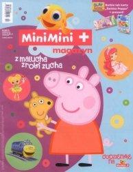"""MiniMini+ magazyn 8/2015 + karty """"Piotruś"""" Świnka Peppa"""