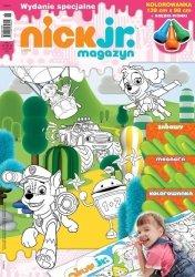 Nick Jr. magazyn Wydanie specjalne 1/2016 kredki + kolorowanka podłogowa Psi Patrol, Blaze, Dora