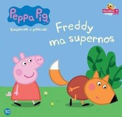 Świnka Peppa Książeczki z półeczki 30 Freddy ma supernos