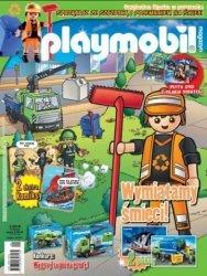 Playmobil magazyn 2/2016 + sprzątacz ze szczotką i pojemnikiem