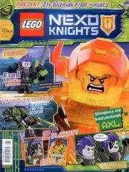 LEGO Nexo Knights magazyn 3/2018 + Zły Bliźniak Fred + miecz