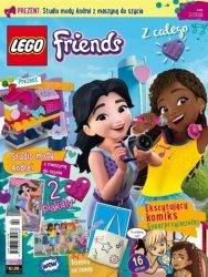 LEGO Friends magazyn 2/2018 + studio mody Andrei z maszyną do szycia