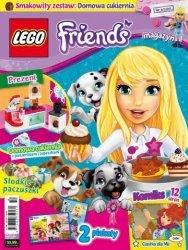 LEGO Friends magazyn 6/2017 + domowa cukiernia