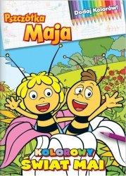 Pszczółka Maja Dodaj Kolorów! 2 kolorowy świat Mai