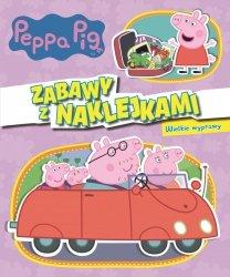 Świnka Peppa Zabawy z naklejkami 2 Wielkie wyprawy