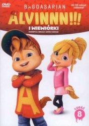 Alvin i wiewiórki Kolekcja filmowa 8 (DVD)