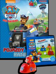 Psi Patrol Pojazdy ratunkowe z książką (zabawka do wyboru)