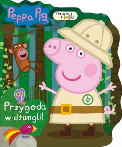 Świnka Peppa Przyjaciele z bajki 2 Przygoda w dżungli!