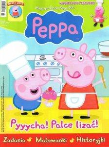 Świnka Peppa magazyn 05/2014 + FIGURKA PEPPY KUCHARKI