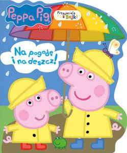 Świnka Peppa Przyjaciele z bajki 4 Na pogodę i na deszcz!