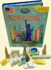 Nowy Jork Moc zabawy + mata i 12 figurek