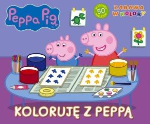 Świnka Peppa Zabawa w kolory 1 Koloruję z Peppą
