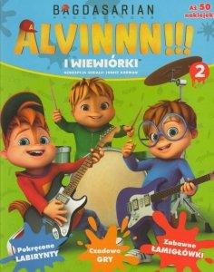 Alvin i wiewiórki 2 (z naklejkami)