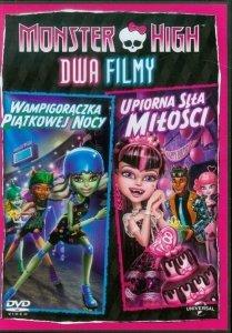 PREZENT ZA ZAKUPY za 50 zł - Monster High DVD Wampigorączka piątkowej nocy / Upiorna siła miłości