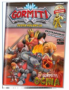 Gormiti Złota kolekcja 1 Gormiti Ognia