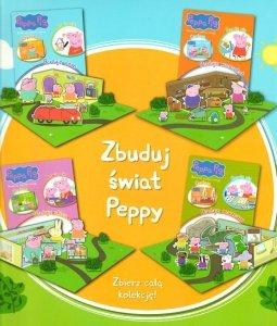 Świnka Peppa Bawię się, czytam, buduję - pakiet 4 części