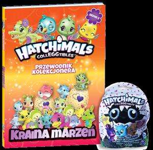 Hatchimals Przewodnik kolekcjonera Sezon 3 Kraina marzeń