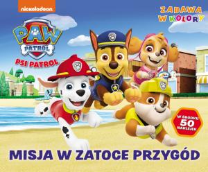 Psi Patrol Zabawa w kolory 4 Misja w Zatoce Przygód