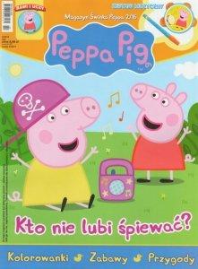Świnka Peppa magazyn 2/2016 Kto nie lubi śpiewać? + ZESTAW MUZYCZNY