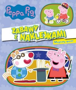 Świnka Peppa Zabawy z naklejkami 5 Magiczny spacer