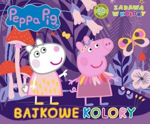 Świnka Peppa Zabawa w kolory 3 Bajkowy świat
