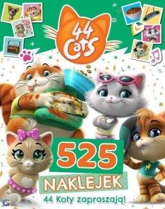 44 Koty 525 naklejek 44 Koty się bawią!
