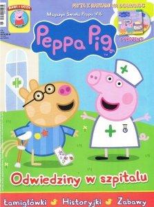 Świnka Peppa magazyn 9/2016 Odwiedziny w szpitalu + płyta VCD Bajki na dobranoc
