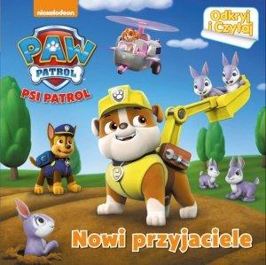 Psi Patrol Odkryj i Czytaj 2 Nowi przyjaciele